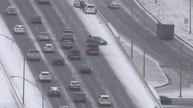 Slush On Metro Roads To Freeze Overnight, ODOT Says