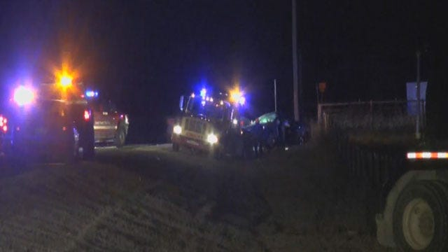 Two Killed, Two Injured In Grady County Collision