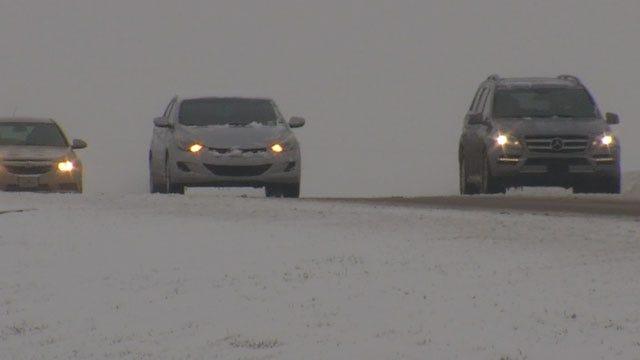 Metro Drivers Urged To Use Extreme Caution On Snowy, Slushy Roads