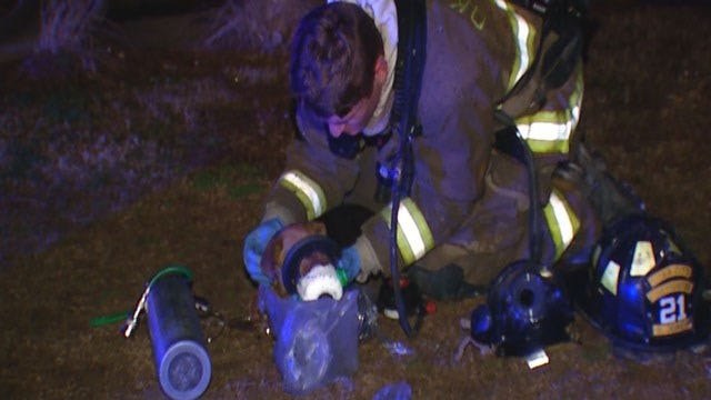 Firefighters Extinguish Multiple Fires In OKC Metro Overnight