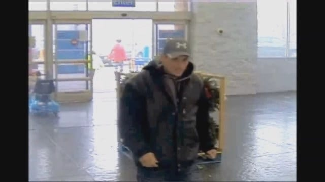 OKC Police Release Video Of Suspect Who Used Stolen Credit Card