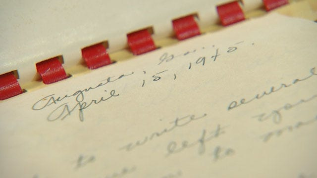 OKC Woman Finds 70-Year-Old WWII Remembrance Letters