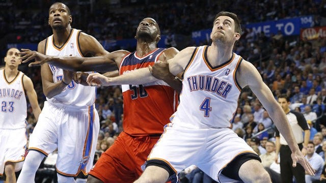 Thunder Give Nick Collison Multi-Year Contract Extension