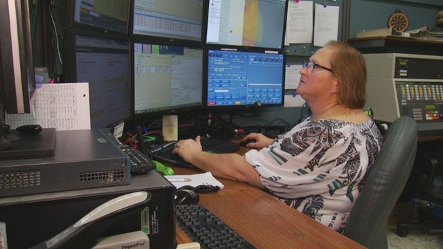 A Look Inside The Cleveland County 911 Dispatch Center
