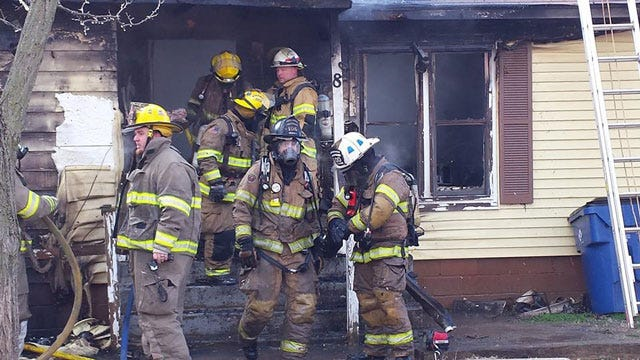 Firefighters Put Out House Fire In Cashion
