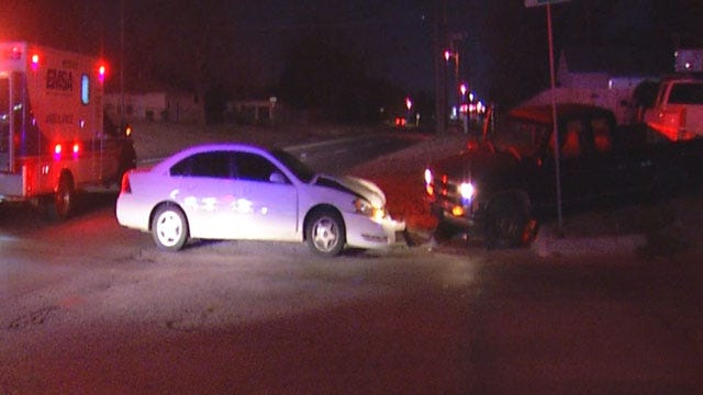 OKC Police Seek Two Who Fled After Hit-And-Run