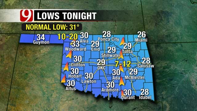 Temperatures On The Rise For Oklahoma