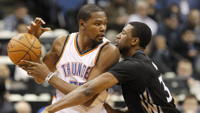 Back Again: Durant To Play Friday Against Pelicans