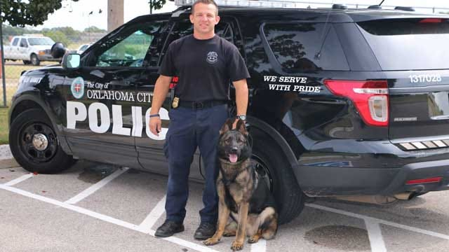 Bullet And Stab Protective Vest Awarded To SSgt. Ryan Stark's New K9