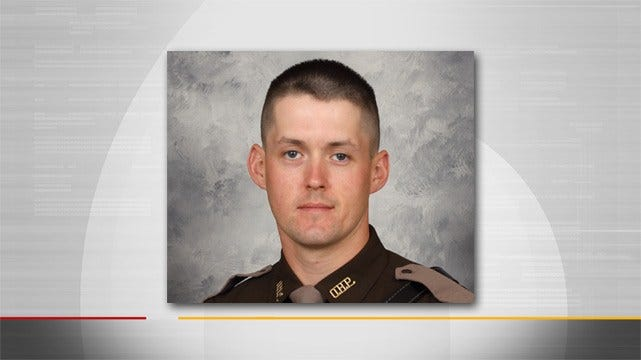 Mourners Gather To Honor Fallen Oklahoma Trooper Nicholas Dees
