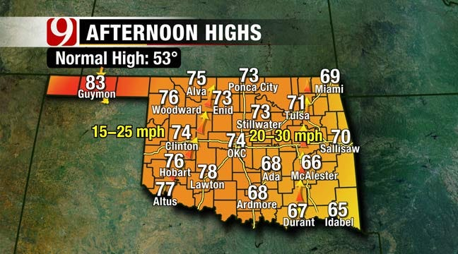 Temperatures Soar Above Normal This Weekend