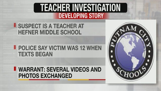 Putnam City Teacher Accused Of Having Inappropriate Relationship With Student