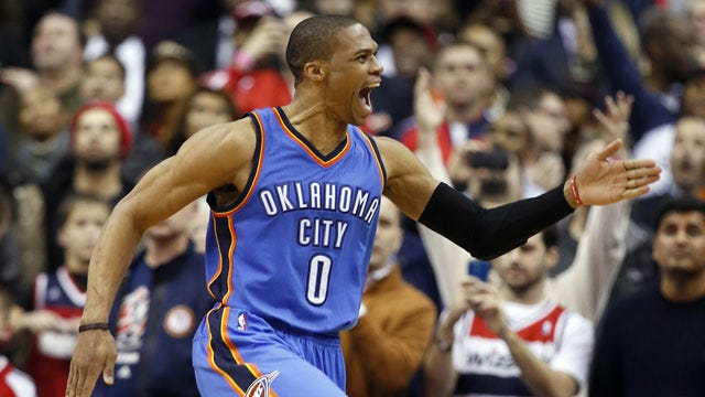 Westbrook Named Western Conference Player Of The Week