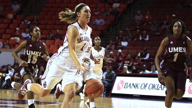 Balanced Attack Leads OU Women Past Texas Tech