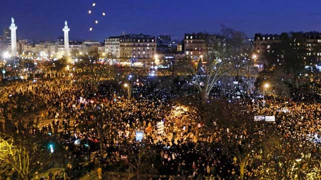 France: 3.7 Million Attend Unity Rallies, Setting Record