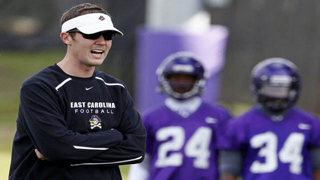 Done Deal: OU Hires ECU'S Riley As Offensive Coordinator