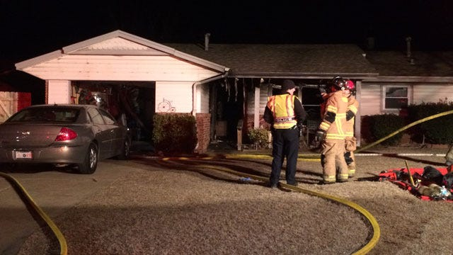 Yukon House Fire Doused Before Spreading To Nearby Structures