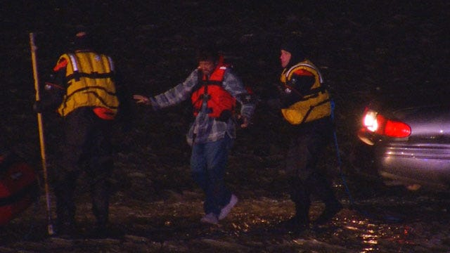 Authorities Send Out Warning Following Lake Overholser Rescue & Arrest