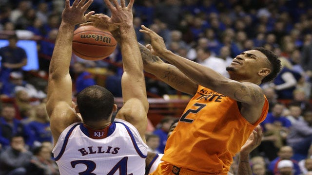 Jayhawks Too Much For Cowboys In Foul-Filled Tilt