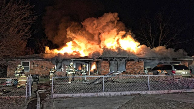 Structure Fires Quadruple In Midwest City