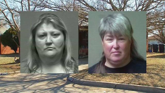 Two OKC Women Facing Child Abuse Charges