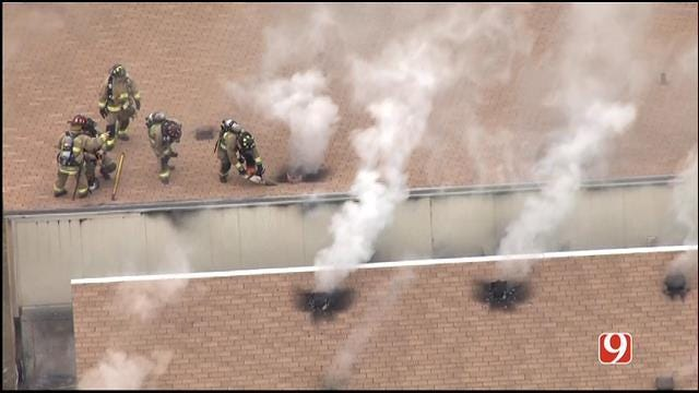 Crews Put Out Apartment Fire In NW OKC
