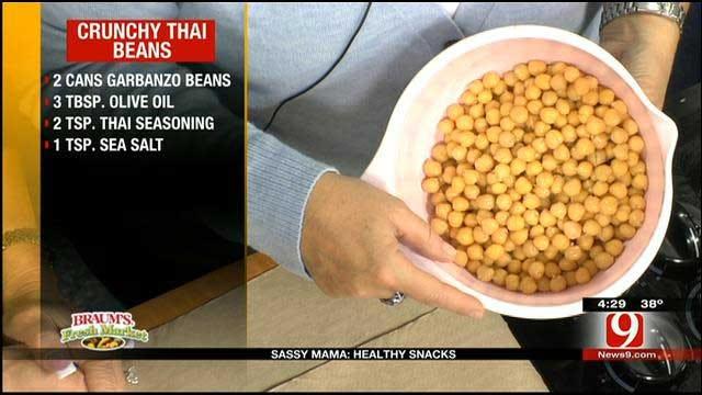 Crunchy Thai Beans