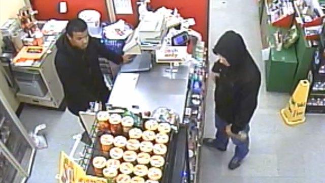 Man Caught On Camera Robbing OKC Store At Gunpoint