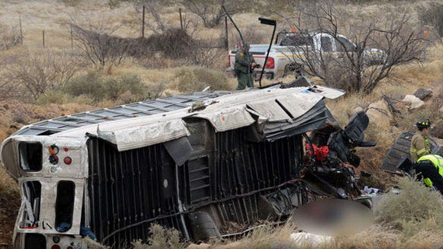 Ten Dead In Texas Crash Involving Bus Carrying Prisoners