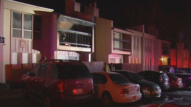 Firefighters Put Out Early Morning Apartment Fire In NW OKC