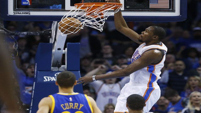 Five Observations From Thunder's Win Over Warriors