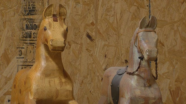Red Dirt Diaries: Rocking Horse Maker With A Royal Story