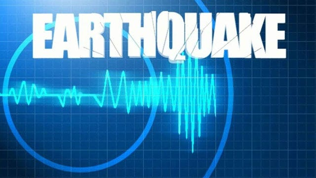 Small Earthquake Shakes Near State Line
