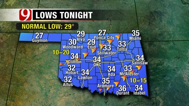 Expect Windy, Warm Weather This Weekend In Oklahoma