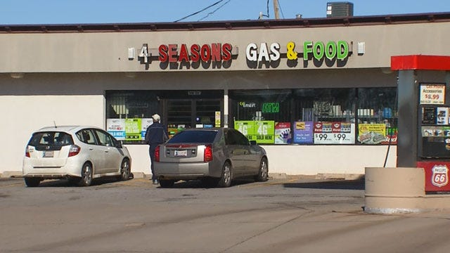 Neighbors Respond To Second Fatal Shooting At Metro Gas Station