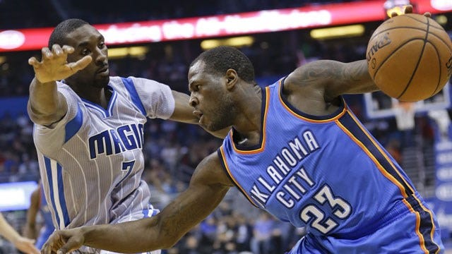 Huge First Half Leads Thunder To Romp In Orlando