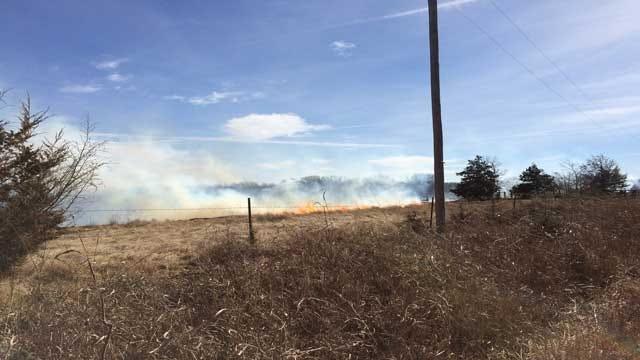Wildfires Burn Hundreds Of Acres Across Central Oklahoma