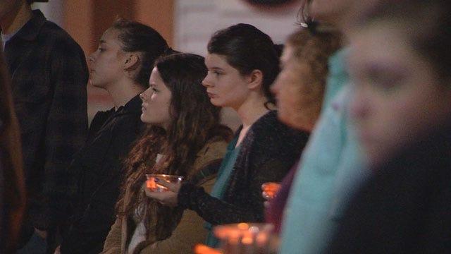 Candlelight Vigil Held After Sudden Death Of Norman HS Teacher