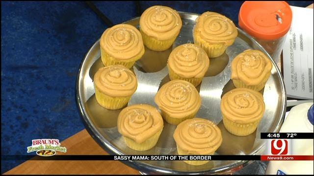 Salted Dulce de Leche Cupcakes