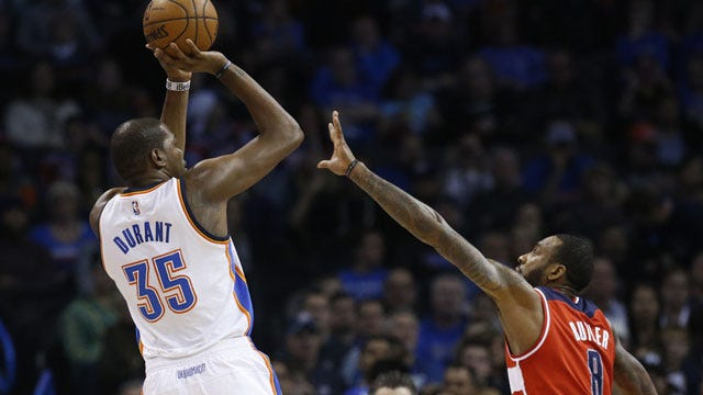 Heads Above Water: Durant Leads Thunder Back To .500