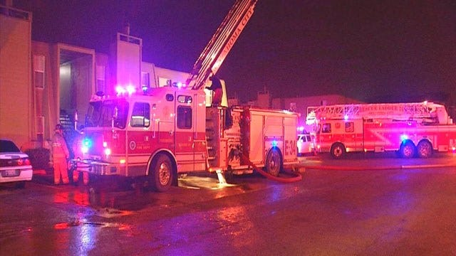OKC Firefighters Extinguish Two Overnight Fires