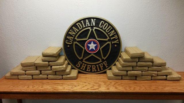 Deputies In Canadian County Seize Millions Of Dollars Worth Of Cocaine