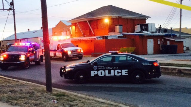 Man Dies After Car Crashes Into SUV, Building In SE OKC