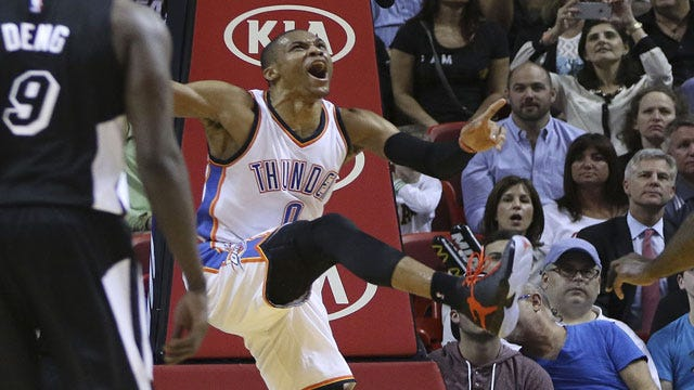 Thunder Turns Down Heat, Moves Above .500