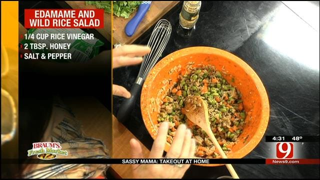 Edamame And Wild Rice Salad
