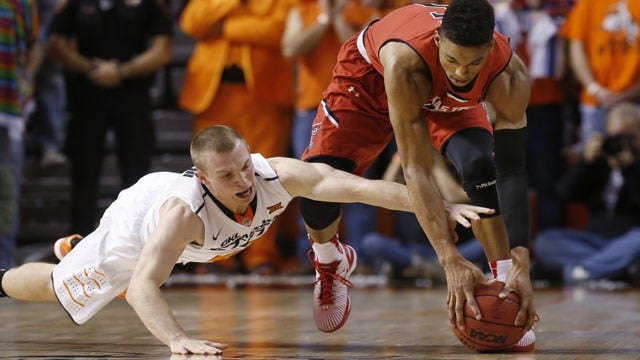 Forte Leads OSU Past Slumping Red Raiders