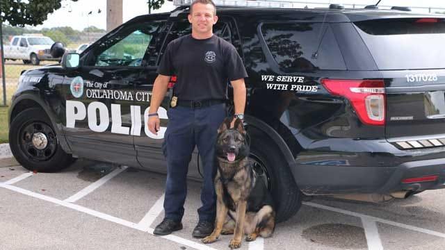 SSgt. Ryan Stark, New K9 Partner To Begin Patrol Wednesday Night