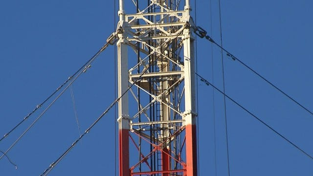 KWTV's Historic Broadcast Tower Nearly Dismantled