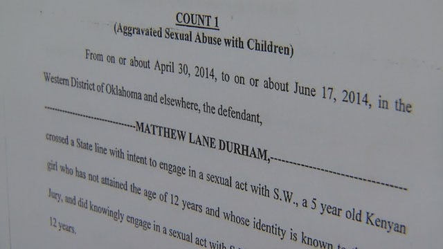 Matthew Durham's Attorney: New Child Sex Abuse Counts Are Ridiculous