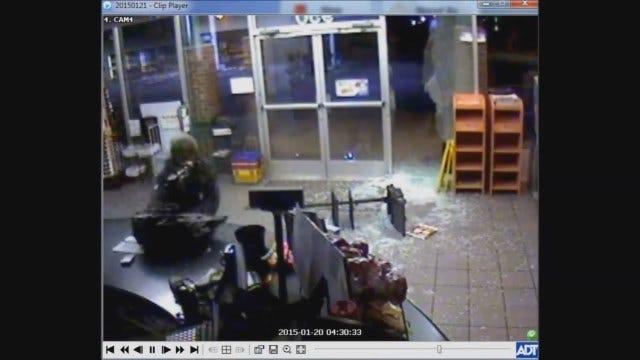 Police Seek Suspect In NE OKC Convenience Store Burglary